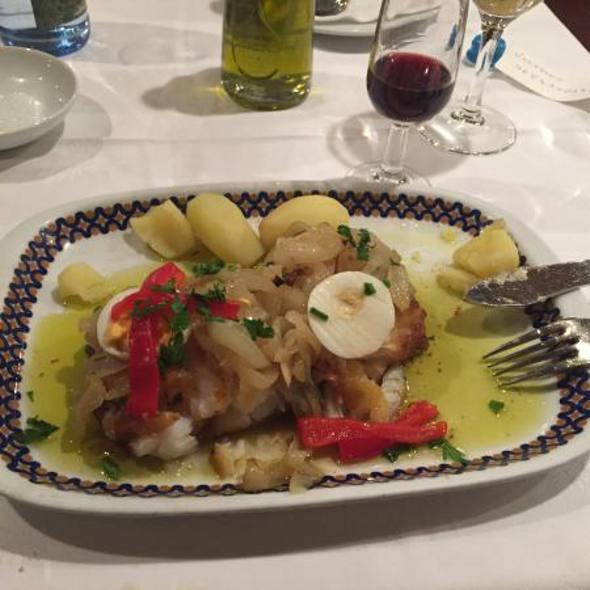 O prato de bacalhau é perfeito