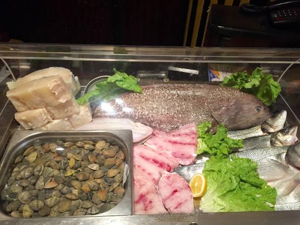 Os frutos do mar
