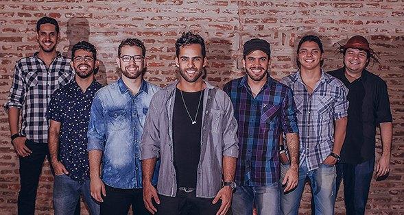 A banda OS Gonzagas, que está participando do programa SuperStar vai se apresentar no UK Créditos: Max Brito/Divulgação