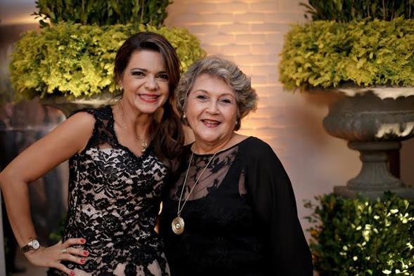 Celinha Abreu e Lima e Maria Angela Mello. Crédito: Ricardo Nascimento
