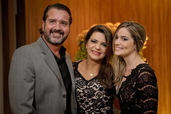 Humberto Zirpoli, Celinha Abreu e Lima e Michele Padilha. Crédito: Ricardo Nascimento