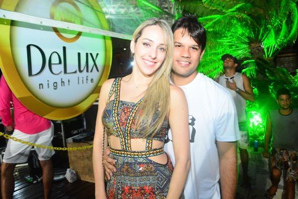 Anna Sarah e Eduardo Trajano. Crédito: Gabriel Pontual / Divulgação