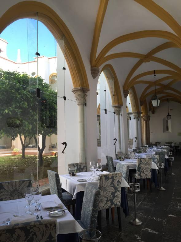 O restaurante da Pousada dos Loios