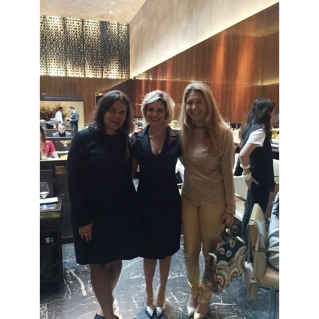 Daniela Falcão, Juliana Santos e Donata Meirelles - Crédito: Reprodução do Instagram