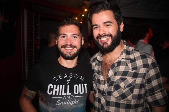 Gustavo Santi e Leandro Xavier. Crédito: Vinicius Ramos