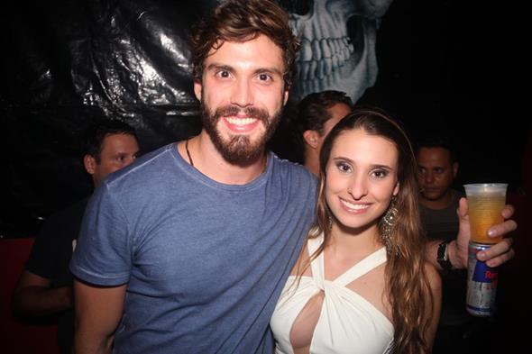Juliana Markan e Eric Numeriano. Crédito: Vinicius Ramos
