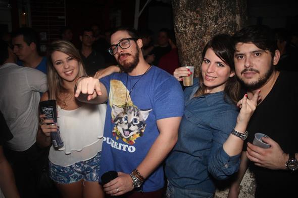 Maria Eduarda Dourado, Paulino Marques, Juliana Costa e Agenor Leite. Crédito: Vinicius Ramos