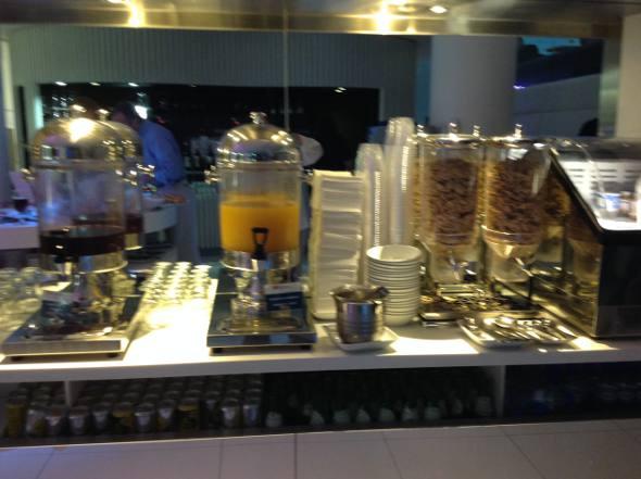 Sucos e cereais