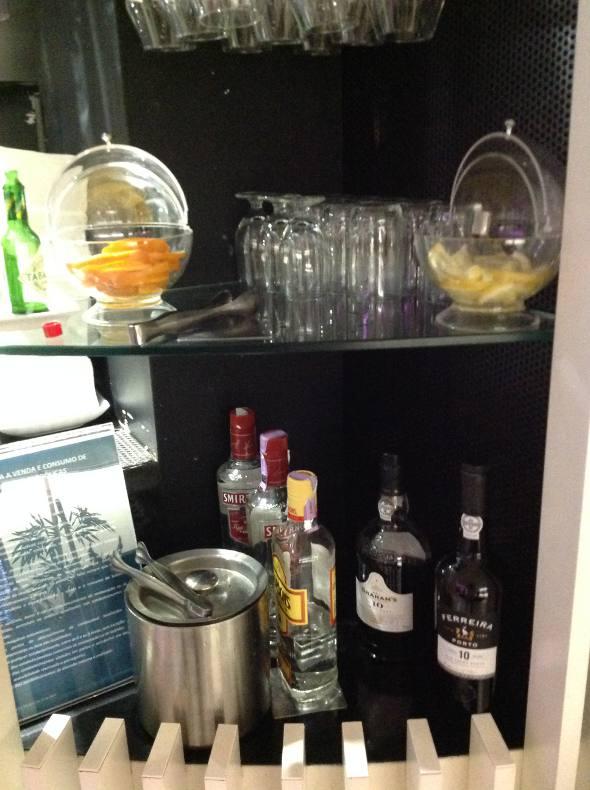 Vários tipos de bebidas