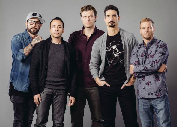 Backstreet Boys. Crédito: Divulgação
