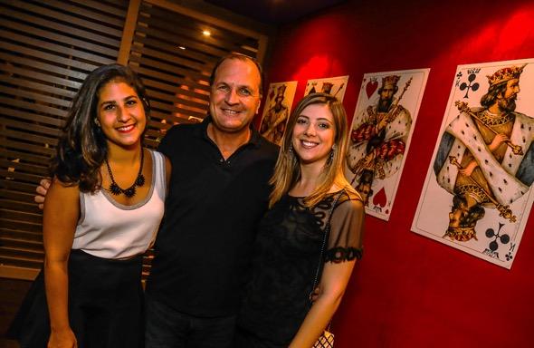 Melina Motta, Licínio Dias e Amanda Dias Créditos: Divulgação/Moove Comunicação