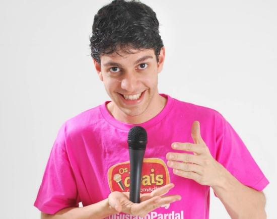 O humorista Gustavo Pardal. Crédito: Divulgação