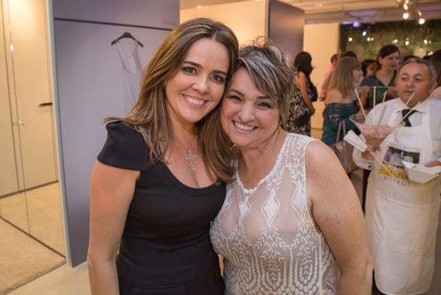 Ana Cristina Moura e Margot Araújo Créditos: Daniel Siqueira/ Divulgação