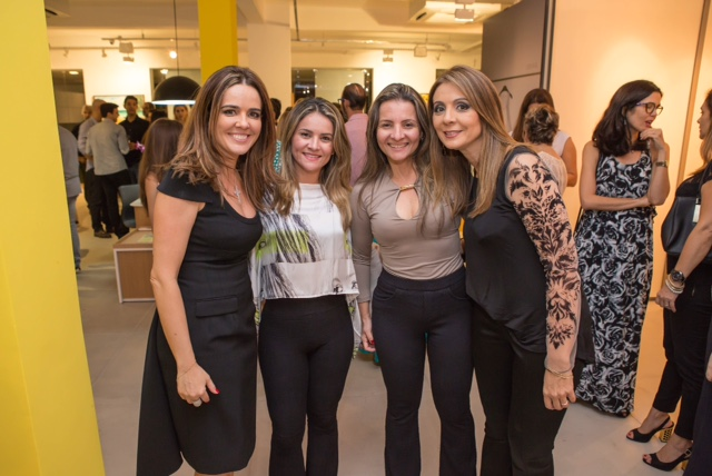 Ana Cristina Moura, Jacqueline Ferreira, Jaidete Ferreira, Luciana Pimentel Créditos: Daniel Siqueira/ Divulgação