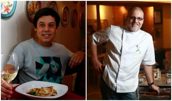 Joca Pontes e Duca Lapenda - Crédito: Ricardo Fernandes/DP/D.A Press e Bernardo Dantas/ DP/D.A Press
