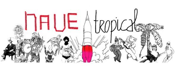 """Logo do projeto """"Nave Tropical"""". Crédito: Reprodução/navetropical.hotglue.me"""