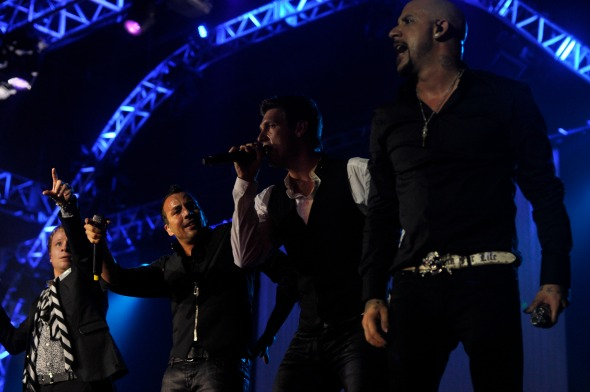 Backstreet Boys - Crédito: Blenda Souto Maior/DP/D.A Press