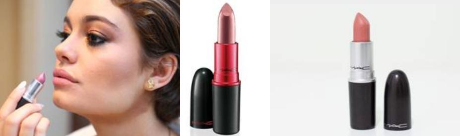 A atriz Sophie Charlotte que interpreta a personagem Alice na novela Babilônia usa os batons Viva Glam V e Honey-Love - Crédito: Divulgação/MAC Cosmetics