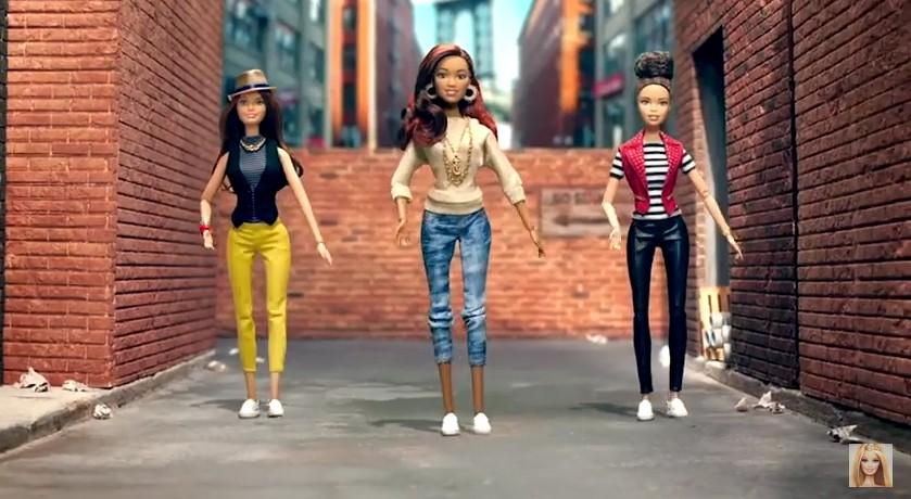 Novas bonecas Barbia Créditos: Reprodução Youtube
