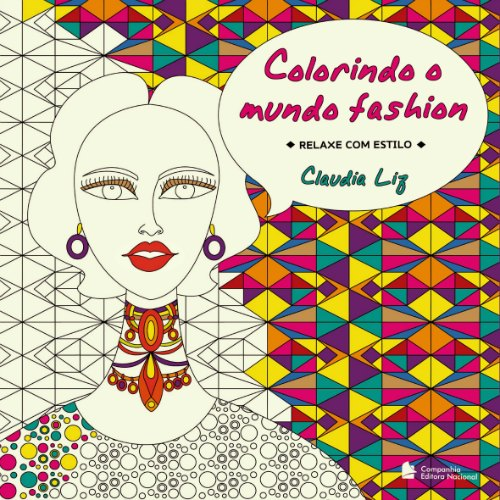Capa do livro Colorindo o mundo fashion Créditos: Reprodução facebook
