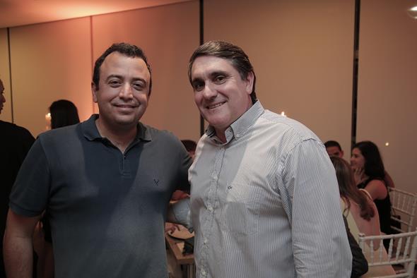 Luis Henrique Oliveira e Marcelo Simom  Créditos: Gleyson Ramos/ Divulgação