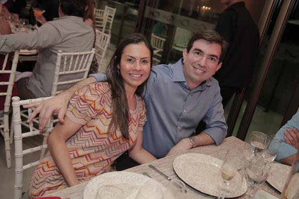 Nayara e Rodrigo Sultanum Créditos: Gleyson Ramos/ Divulgação