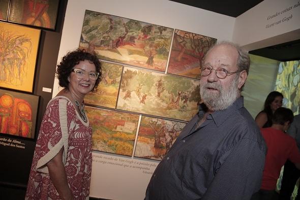 Eduardo Araújo e esposa Créditos: Gleyson Ramos/Divulgação