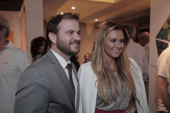 Ricardo Jaeger e Gabriela Moreno Sanches Créditos: Gleyson Ramos/Divulgação