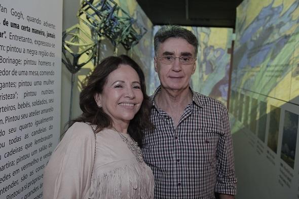 Sheila e Augusto Carneiro Créditos: Gleyson Ramos/Divulgação