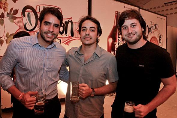 Luis Felipe, Ricardo Neves e Rodrigo Carvalheira Fotos: Rafa Medeiros e Renato Spencer