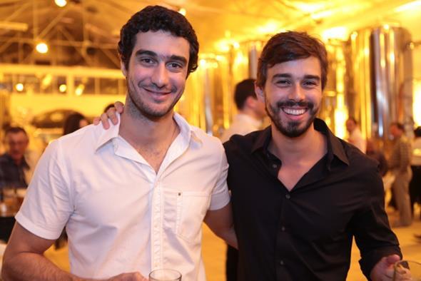 Miguel Vitta e Rafael Lobo Fotos: Rafa Medeiros e Renato Spencer