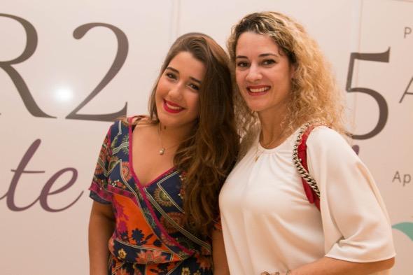 Mel e Sandra Janguiê - Crédito: Tatiana Sotero/DP/D.A Press