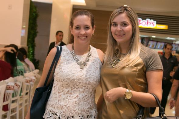 Madu Baptista e Tita Belo - Crédito: Tatiana Sotero/DP/D.A Press