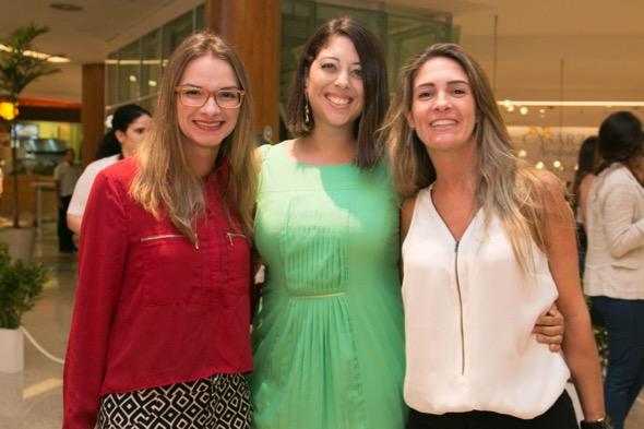 Daniella Cantarelli, Cecilia Grizzi e Roberta - Crédito: Tatiana Sotero/DP/D.A Press
