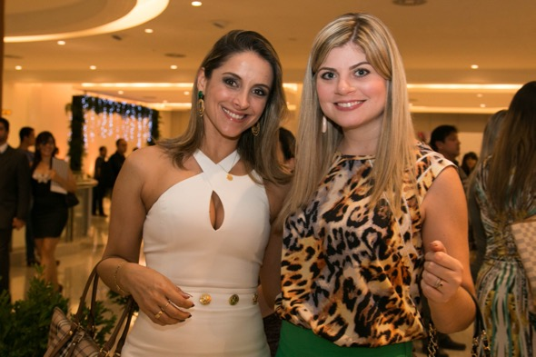 Erica Penna e Bruna Paschoal - Crédito: Tatiana Sotero/DP/D.A Press