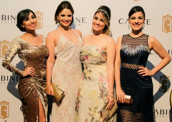 As 4Bloggers: Laurinha Marinho, Cuca Amorim, Karine Filizola e Gio Zirpoli. Crédito: Francisco Andrade / Divulgação