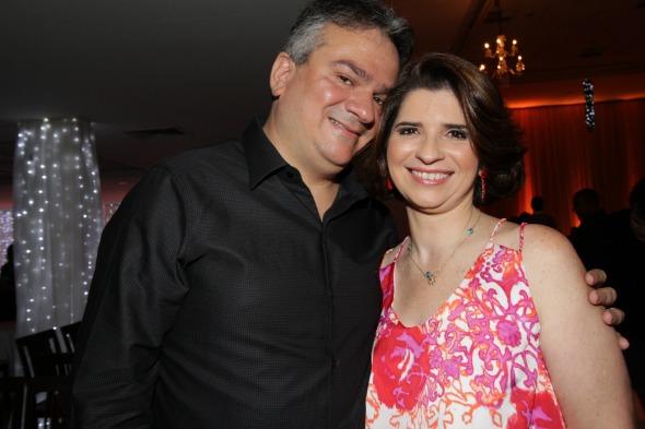 Augusto Carreras e Ana Paula - Crédito: Roberto Ramos/DP/D.A Press