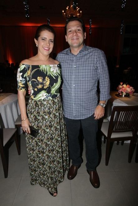 Cristina Mello e Geraldo Julio no Baile dos Namorados - Crédito: Roberto Ramos/DP/D.A Press