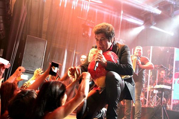 Daniel era a grande atração da noite - Crédito: Roberto Ramos/DP/D.A Press