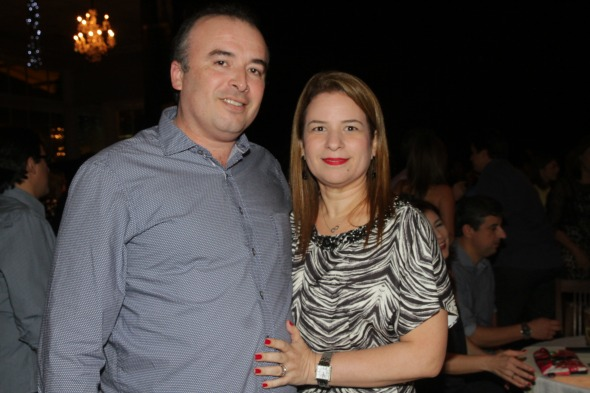Jorge Vieira e Renata - Crédito: Roberto Ramos/DP/D.A Press