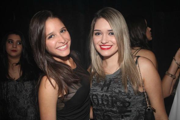 Larissa Cabral e Duda Barros. Crédito: Vinícius Ramos