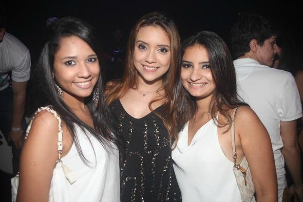 Letícia Rabelo, Catarina Freitas e Mayara Monick. Crédito: Vinícius Ramos