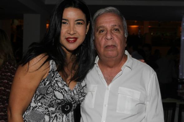 Luciana Moura e Edgar Moury Fernandes - Crédito: Roberto Ramos/DP/D.A Press