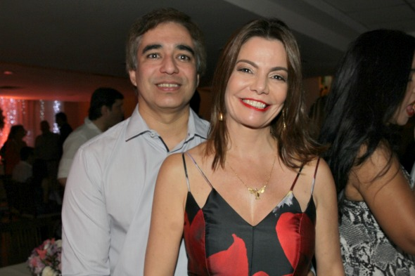 Olavo Andrade Lima e Daniela Gusmão - Crédito: Roberto Ramos/DP/D.A Press
