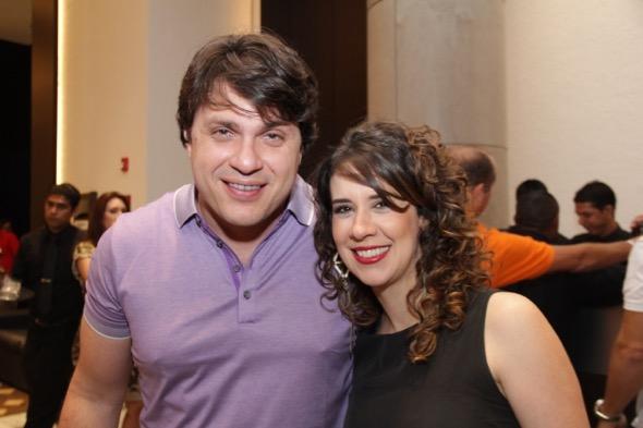 Thiago Figlioulo e Juliana Fernandes. Crédito: Luiz Fabiano / DIvugação