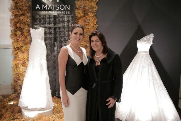Mary Mansur e Martha Medeiros - Crédito: Gleyson Ramos/Divulgação