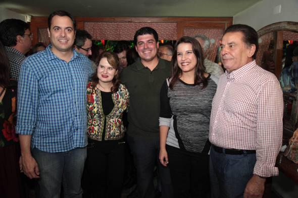 Paulo e Ana Luiza Câmara, Fernando Lucena, Raquel Lyra e João Lyra Neto/Roberto Pereira Junior/Divulgação