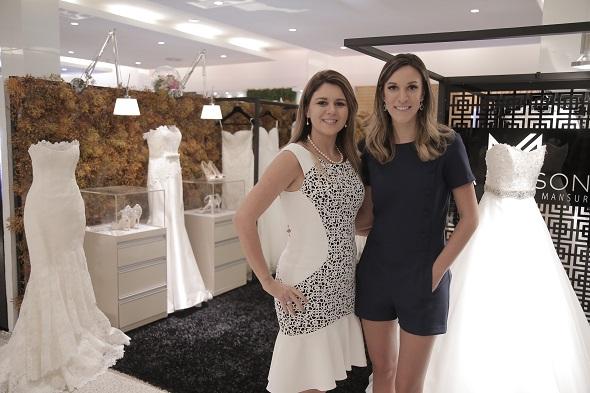 Mary Mansur e Camila Piccini. Crédito: Gleyson Ramos/Divulgação
