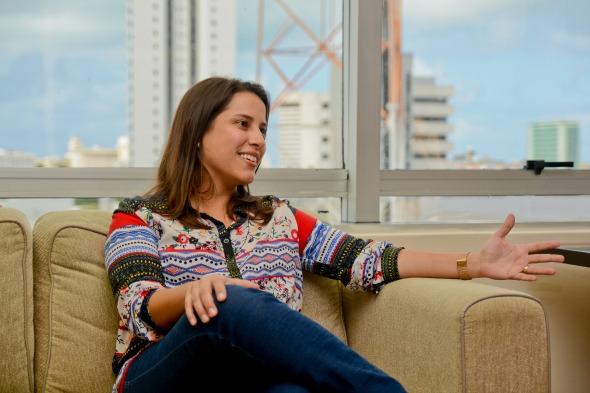 Raquel Lyra - Credito: Guilherme Verissimo/Esp DP