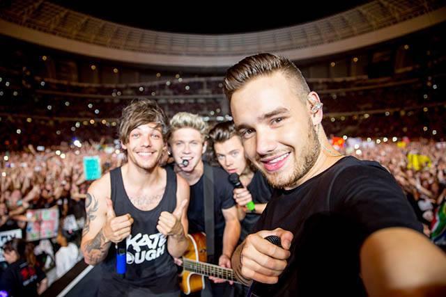 One Direction. Crédito: Reprodução Facebook